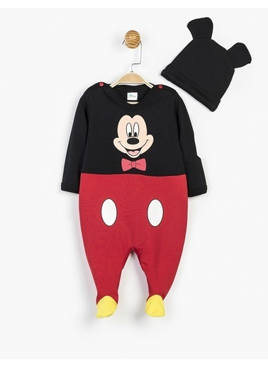 Mickey Mouse Tulum Siyah
